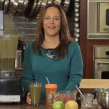 Recipe on how to make a green smoothie